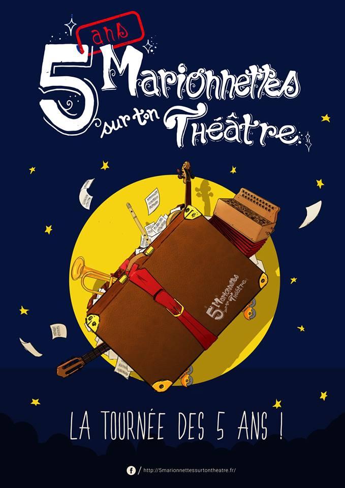 5 Marionnettes sur ton Théâtre